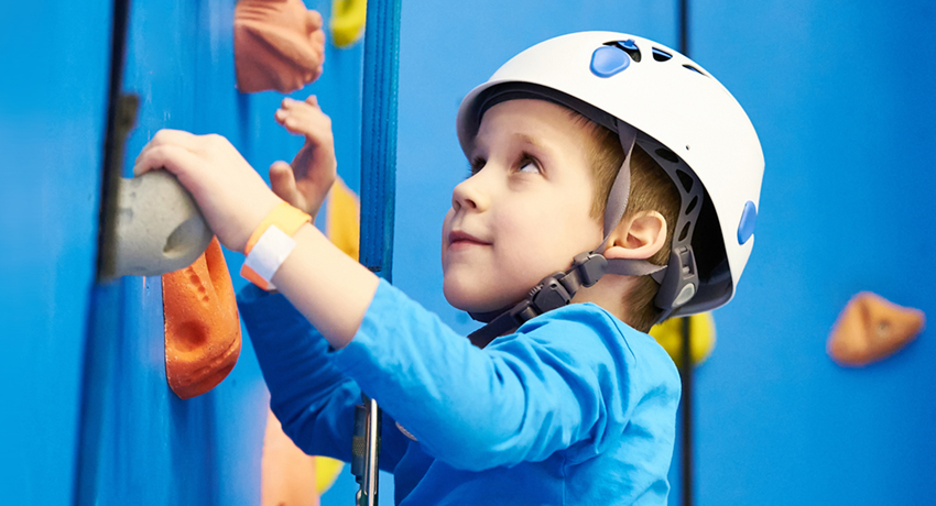 Arrampica services for schools - climbing walls, training and documentation